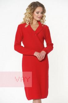 Платье женское 182-2307 Фемина (Красный)