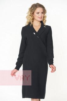 Платье женское 182-2307 Фемина (Черный)
