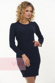 Платье женское 2304 Фемина (Темно-синий)