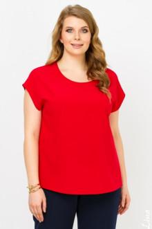 """Блуза """"Юта"""" Лина (Красный)"""