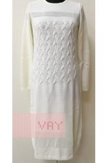 Платье женское 182-2277 Фемина (Молоко)
