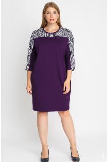"""Платье """"Лина"""" 52120 (Фиолетовый)"""