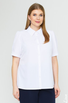 "Блуза ""Лина"" 4142 (Белый)"