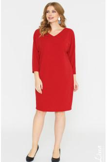 """Платье """"Лина"""" 52128 (Красный)"""