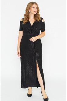"""Платье """"Лина"""" 52129 (черный)"""