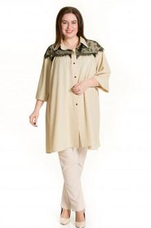 Рубашка 672 Luxury Plus (Бежевый)