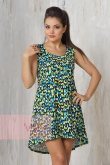 Платье женское 3303 Фемина (Палитра зеленый)