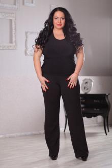 Блуза 044301 ЛаТэ (Черный)