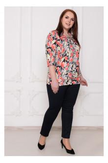 """Блуза """"Дора"""" Саломея (Цветы)"""