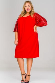 Платье 1517203 ЛаТэ (Красный)