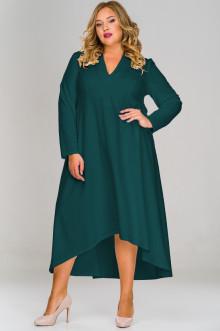 Платье 1517303 ЛаТэ (Изумрудный)