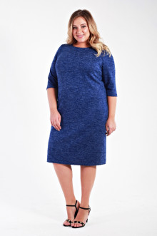Платье 1312104 ЛаТэ (Синий)