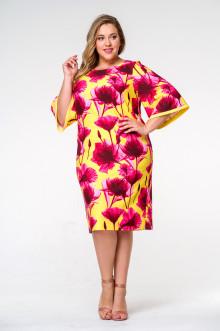Платье 1413004 ЛаТэ (Мультиколор)
