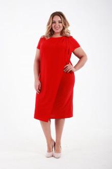 Платье 1010203 ЛаТэ (Красный)