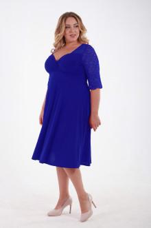 Платье 1111402 ЛаТэ (Васильковый)