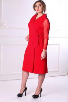 Платье 088702 ЛаТэ (Красный)