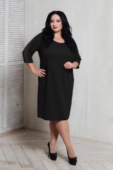 Платье 066401 ЛаТэ (Черный)