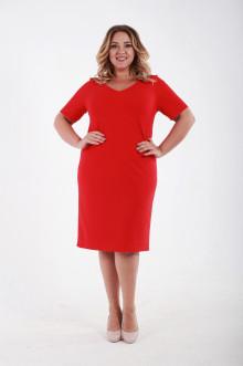 Платье 061503 ЛаТэ (Красный)