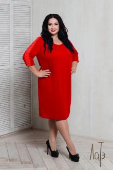 Платье 066404 ЛаТэ (Красный)