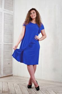 Платье 1010202 ЛаТэ (Васильковый)