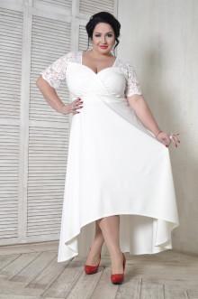 Платье 099401 ЛаТэ (Белый)