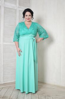 Платье 098102 ЛаТэ (Ментоловый)