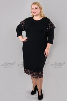 """Платье """"Артесса"""" PP01803BLK36 (Черный)"""