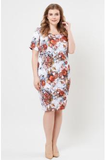 """Платье """"Лина"""" 5269 (Цветы)"""