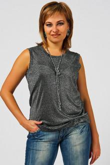 "Блуза ""СКС"" 3040 (Черненое серебро)"