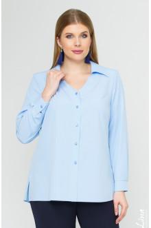 """Блуза """"Лина"""" 4141 (Голубой)"""