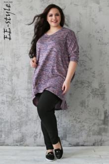 """Пуловер """"Её-стиль"""" 1113 ЕЁ-стиль (Персиковый меланж)"""