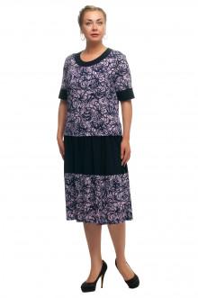 """Платье """"Олси"""" 1705056/2 ОЛСИ (Фиолетовый)"""