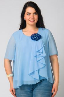 """Блуза """"СКС"""" 2762 (Голубой)"""