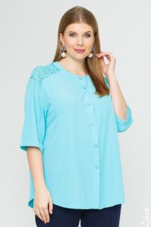 """Блуза """"Лина"""" 4143 (Мята)"""