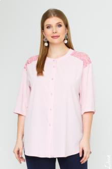 "Блуза ""Лина"" 4143 (Розовый)"