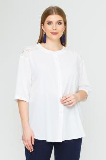 "Блуза ""Лина"" 4143 (Молочный)"