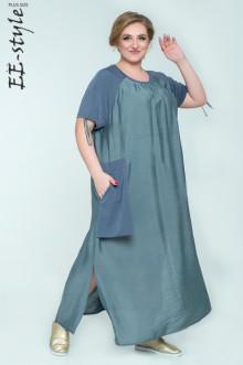 "Платье ""Её-стиль"" 2028 ЕЁ-стиль (Серый)"