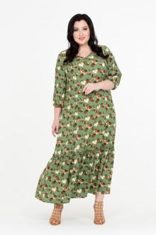 """Платье """"Жасмин"""" Intikoma (Зелёный)"""