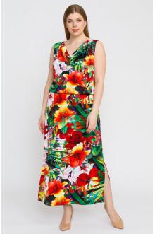 """Платье """"Лина"""" 5296 (Красный)"""