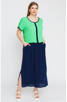 """Платье """"Лина"""" 5294 (Зелёный)"""