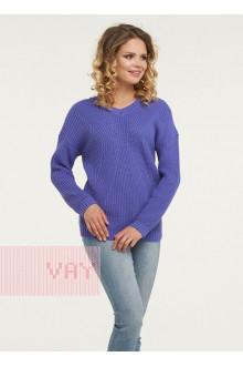 Джемпер женский 182-4679 Фемина (Фиолетовый)