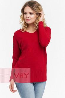 Джемпер женский 182-4632 Фемина (Красный)
