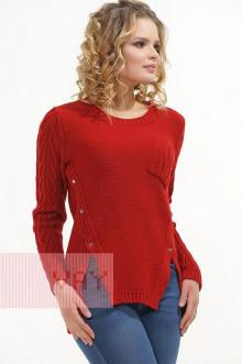 Джемпер женский 4622 Фемина (Красный)