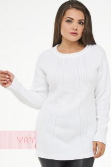 Джемпер женский 4584 Фемина (Белый)