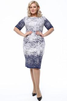 Платье 1063-057 Грация Стиля (Синий)